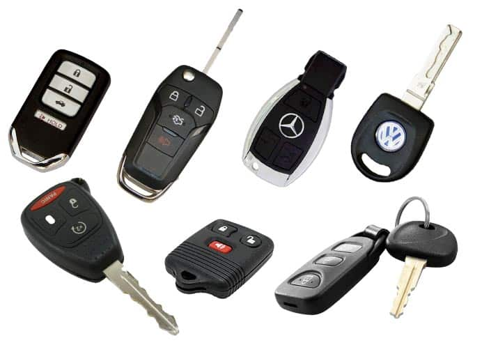 Keyway can replace all types of vehicle keys